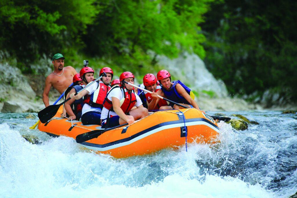 Rafting on the Neretva River Copy